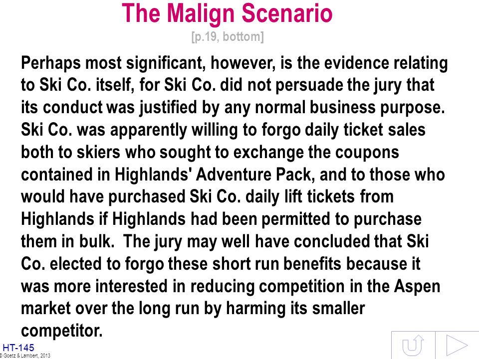 The Malign Scenario [p.19, bottom]